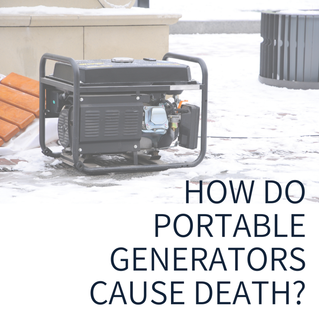 How Do Portable Generators Cause Death (Carbon Monoxide Poisioning) by Watts Guerra