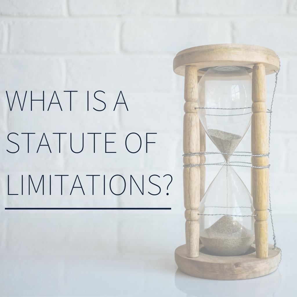 Statute of limitations by watts guerra