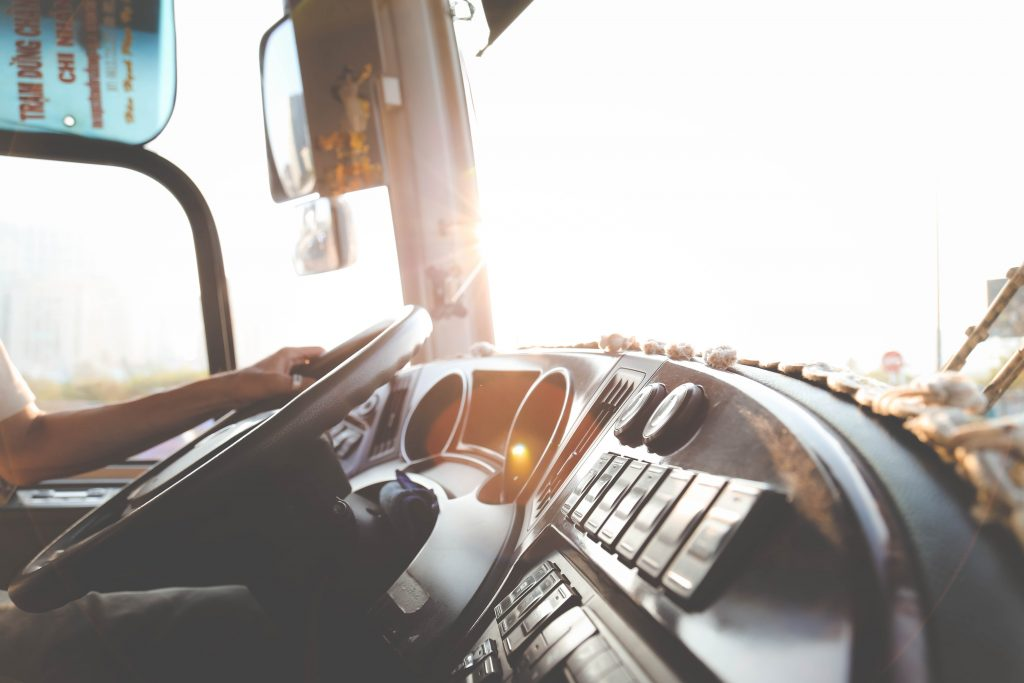 can a truck driver text while driving by Watts Guerra